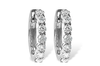 A028-75831: EARRINGS 1.00 CT TW