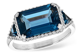 D217-84040: LDS RG 4.60 TW LONDON BLUE TOPAZ 4.82 TGW