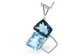 E216-06758: NECK 10.60 BLUE TOPAZ 10.73 TGW