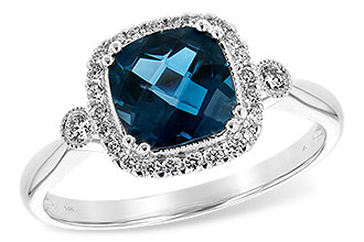 F216-92204: LDS RG 1.62 LONDON BLUE TOPAZ 1.78 TGW