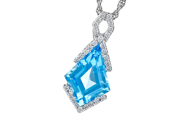 F300-56731: NECK 2.40 BLUE TOPAZ 2.53 TGW