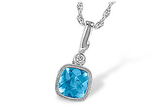 G214-24949: NECK 1.03 BLUE TOPAZ 1.05 TGW