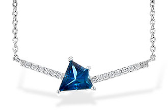 G217-88558: NECK .87 LONDON BLUE TOPAZ .95 TGW