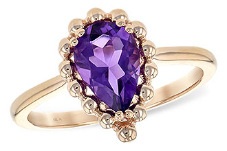 K216-94976: LDS RING 1.06 CT AMETHYST