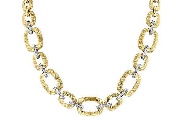M034-18621: NECKLACE .48 TW